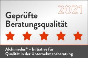 geprüfte Beratungsqualität 2021